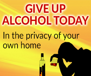 give up alcohol today