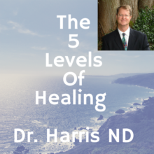 The 5 Levels of Healing In Gut Health by Dr. Harris ND – Part One