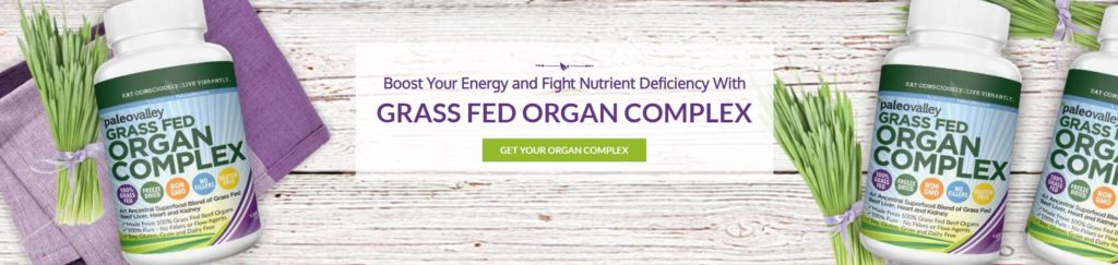 Paleovalley Grass Fed Organ Complex crohns colitis